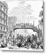 New York: Broadway, 1852 Metal Print