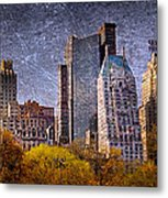 New York Buildings Metal Print