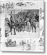 New York: Camp Wikoff, 1898 Metal Print