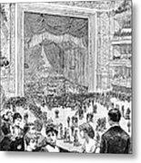 New York Charity Ball, 1884 Metal Print