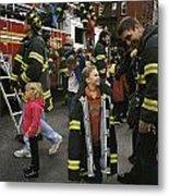 New York City Firefighters Host Metal Print