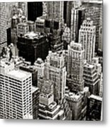 New York City From Above Metal Print