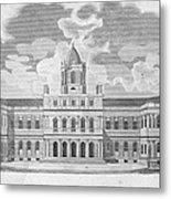 New York: City Hall, C1829 Metal Print