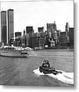 New York City Harbor Metal Print