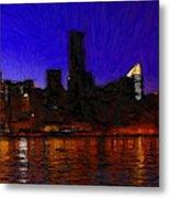 New York Colors Metal Print