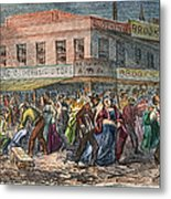 New York: Draft Riots 1863 Metal Print