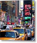 New York Gridlock Metal Print