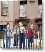 New York Kids 1975 Metal Print