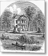 New York: Mansion, 1760 Metal Print
