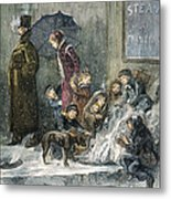 New York: Poverty, 1876 Metal Print by Granger