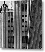 New York Reflections 1 Metal Print