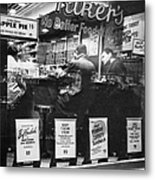 New York: Restaurant, 1948 Metal Print