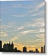 New York Sunset 2 Metal Print