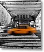 New York Taxi 1 Metal Print