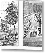 New York: Winery, 1878 Metal Print