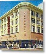 Newberry's Department Store In El Paso Tx In The 1950's Metal Print