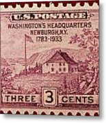 Newburgh Ny Postage Stamp Metal Print