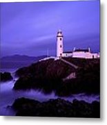 Newcastle, Co Down, Ireland Lighthouse Metal Print