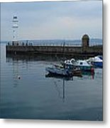 Newhaven Harbour Lighthouse Metal Print