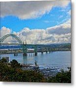 Yaquina Bay Bridge Metal Print