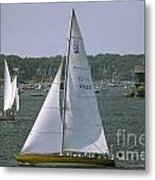 Newport Sailing Metal Print