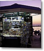 Newsstand In Croatia Metal Print