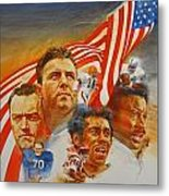 Nfl Hall Of Fame 1984 Game Day Cover Metal Print
