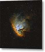 Ngc 281, The Pacman Nebula Metal Print by Rolf Geissinger