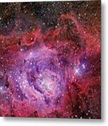 Ngc 6523, The Lagoon Nebula Metal Print
