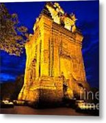 Nhan Tower.  Metal Print