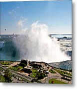 Niagara Falls From Above Metal Print