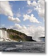 Niagara Falls View From The Maid Of The Mist Metal Print
