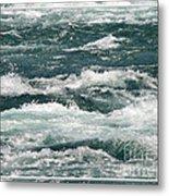 Niagara River Rapids 2 Metal Print