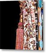 Nice Curtain Metal Print by Tom Gowanlock