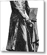 Nicephore Niepce, French Inventor Metal Print
