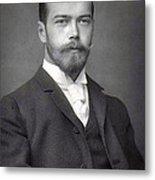 Nicholas II From Russia Metal Print