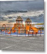 Nickerson Beach Play Area Metal Print