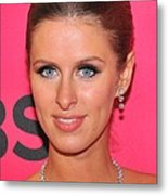 Nicky Hilton Wearing A Mouawad Necklace Metal Print by Everett