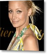 Nicole Richie Wearing A Dries Van Noten Metal Print by Everett