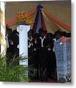 Nigerian Church Choir Metal Print