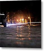 Night Cops Metal Print