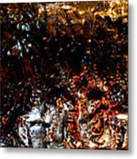 Night Ice Metal Print