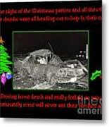 Night Of Christmas Metal Print