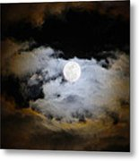 Night Of The Full Moon Metal Print