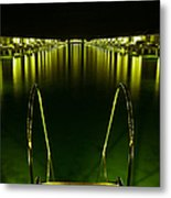 Night. One Day In Paradise. Maldives Metal Print