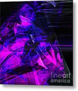 Night Rider . Square . A120423.936.693 Metal Print