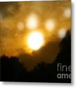 Night Sun Metal Print