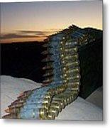 Night Watch In Afghanistan Metal Print