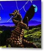 Nightmare After Midnight Metal Print