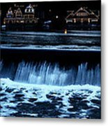 Nighttime At Boathouse Row Metal Print
